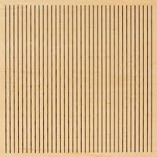 perforated wood panels soundproof cow