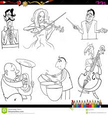 orchestra printable to color inside coloring pages and omeletta me