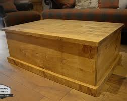 Chest Coffee Table Chest Coffee Table Etsy
