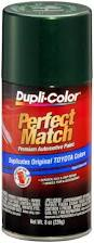 amazon com dupli color bty1603 dark green mica toyota exact match