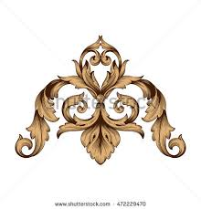 rococo pattern stock images royalty free images vectors