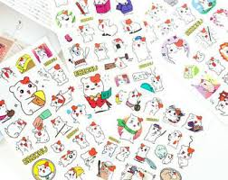 anime wrapping paper hamster etsy