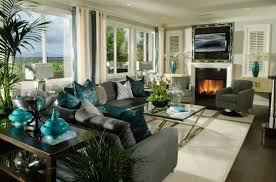 Turquoise Living Room Decor Decorating With Turquoise Colors Of Nature Aqua Exoticness