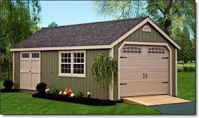 Backyard Garage Designs Storage Sheds Lancaster County Barns New England Garage