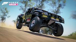 baja truck street legal ring in the new year with the forza horizon 3 rockstar car pack