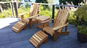Western Red Cedar Outdoor Furniture by Outdoor Furniture Seattle Brilliant Adirondack Chairs And Outdoor