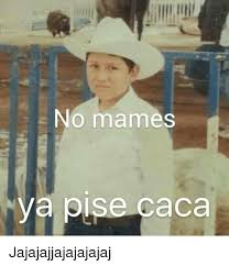 Meme Caca - no mames ya pise caca jajajajjajajajajaj meme on me me