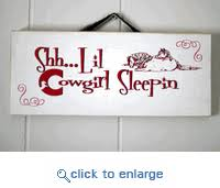 red barn ranch lil cowgirl home decor western sign s 1026rw