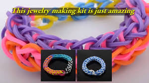 make rubber bracelet images Bracelet making kit rubber band jewelry maker set launched jpg