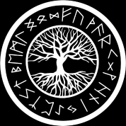 viking yggdrasil tree of with norse rune t shirt spreadshirt