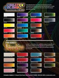 Blood Red Color Code Auto Air Color Charts Airbrush Paint Direct