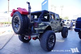 camo jeep yj 2017 sema jstar camo jeep jk wrangler unlimited