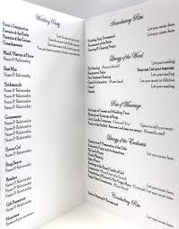 wedding program formats 59 best diy wedding programs images on wedding program