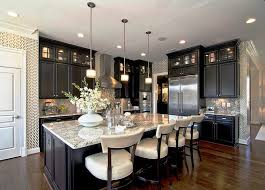 black kitchen furniture kitchen with hardwood floors by mario selar zillow digs zillow