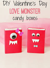 s day card boxes diy candy box s candy boxes box and monsters