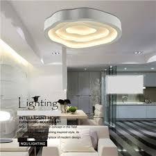 luminaires chambre moderne mode simple led plafonnier acrylique lumière luminaire