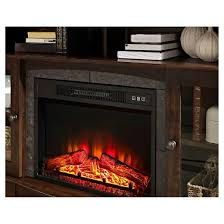 Electric Fireplace Media Console Whalen Media Electric Fireplace Console 54
