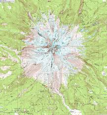 Topography Map Turns All Year Mt Hood Clickable Topographic Map