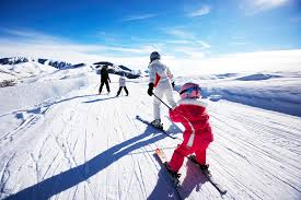 sizing and buying junior skis for kids