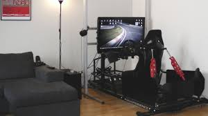 this racing simulator puts you in the car no virtual reality
