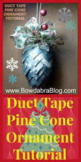 how to make a duct tree ornament trees