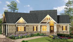Bi Level Floor Plans With Attached Garage by Affordable Gable Roofed Ranch Home Plan 15885ge Architectural