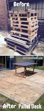 Pallet Furniture Patio by Best 25 Pallet Deck Furniture Ideas On Pinterest Sectional