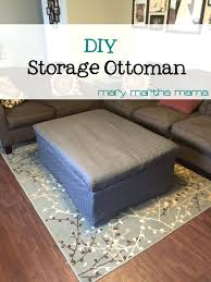 Diy Ottoman Coffee Table Amazing Diy Storage Ottoman Coffee Table Mediasupload