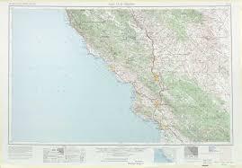 Paso Robles Map San Luis Obispo Topographic Maps Ca Usgs Topo Quad 35120a1 At 1