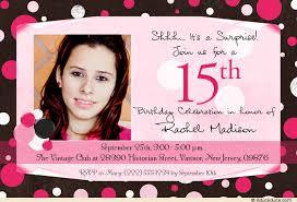 invitation for 15th birthday cloveranddot com