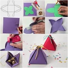 individual ornament gift boxes wonderful diy pyramid gift box