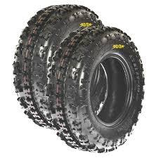 pair of 2 sunf a027 sport atv tires 22x7 10 22x7x10 6 ply ebay