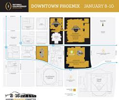 Phx Airport Map College Football Championship Festivities Coming To Downtown Phoenix