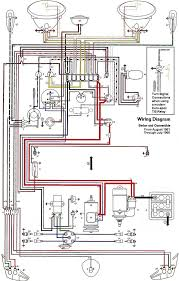 free auto wiring diagram 1962 1965 vw beetle electrical diagram