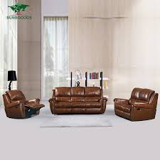 Brown Leather Recliner Sofa Set Leather Sofa Set Leather Sofa Set Suppliers And Manufacturers At
