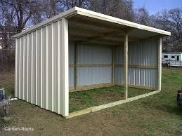 plans to build a horse shed beautiful basic loafing shed