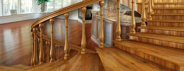Refinish Banister Wood Railings Refinishing Rockland County Ny