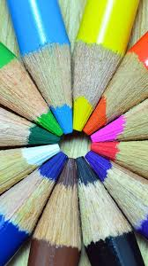 colorful pencils wallpapers colorful pencils circle android wallpaper free download