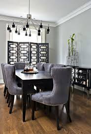 grey wood dining room table 14627