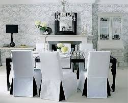black and white chair covers dining room chair covers black and white dining room chairs for