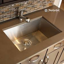 Nantucket Sinks Zr2818 16 28 Inch Pro Series Single Bowl Undermount