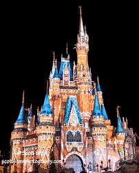 cinderella castle at disney world shaw photography