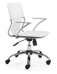 Zuo Modern Desk by Amazon Com Zuo Modern Trafico Office Chair White Kitchen U0026 Dining