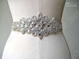 Wedding Sashes Outstanding Belts For Wedding Dresses On Wedding Dress With
