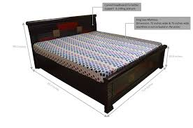 king size mattress size in inches mattress