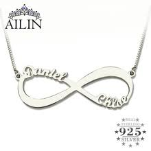s day necklaces personalized popular names buy cheap names lots from china