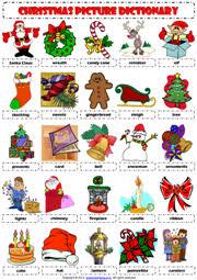 christmas esl printable worksheets and exercises christmas