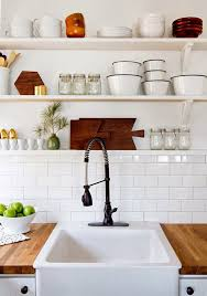 Open Shelf Kitchen by Aesthetically Functional 21 Ways To Show Off Open Shelving Riamist