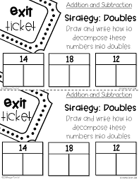 number chats exit tickets and math supplements tunstall u0027s