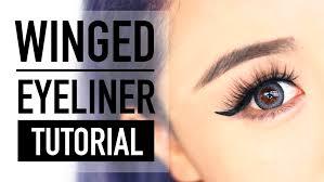 liquid eyeliner tutorial asian winged eyeliner tutorial for hooded eyes the wonderful world of wengie